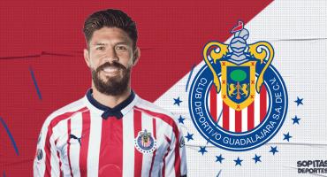 ¡OFICIAL! Oribe Peralta es nuevo jugador de Chivas