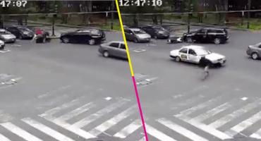 Así fue como estos conductores detuvieron a presuntos delincuentes en Polanco