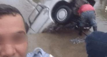 Pa'l Feis: este policía se encontró con un accidente y... se tomó una selfie