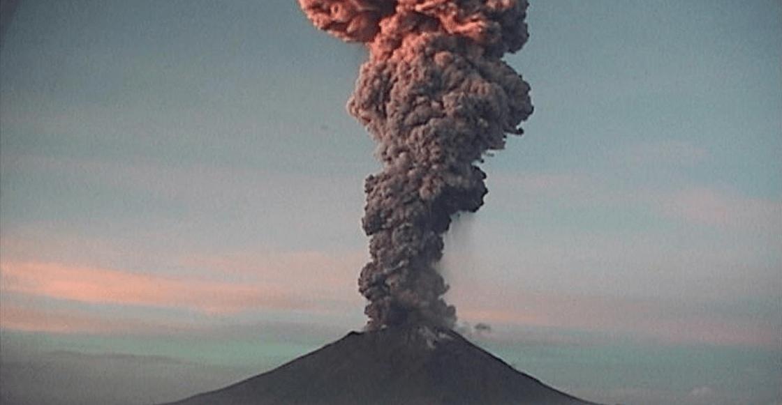 El Popocatépetl registra explosión de cenizas; sigue la alerta en Amarillo Fase 2