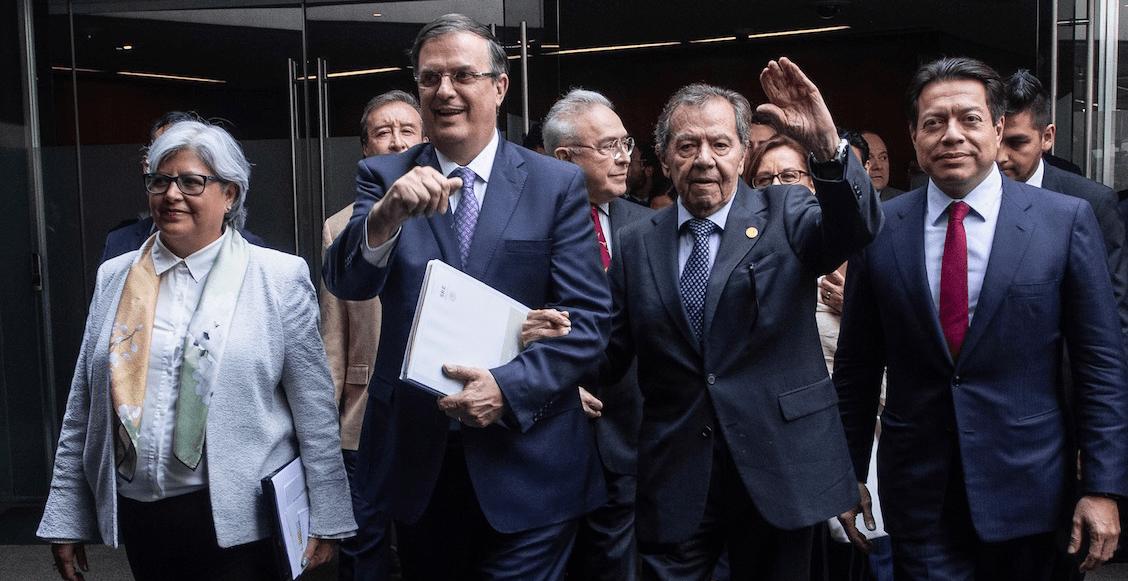 'Me lo van a reventar', la advertencia de Porfirio Muñoz Ledo a Ebrard