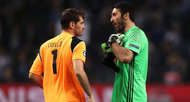 ¡Leyendas juntas! Porto buscaría reunir a Buffon y Casillas