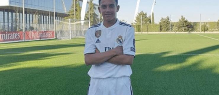 Real Madrid fichó al hijo de la 'Perla' Reyes de tan sólo 11 años