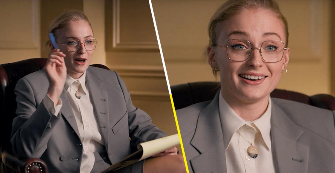 ¿Qué? ¿Sophie Turner se convierte en terapeuta de personajes famosos?