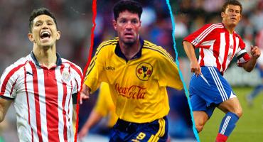 Todos los futbolistas que han jugado en América y Chivas