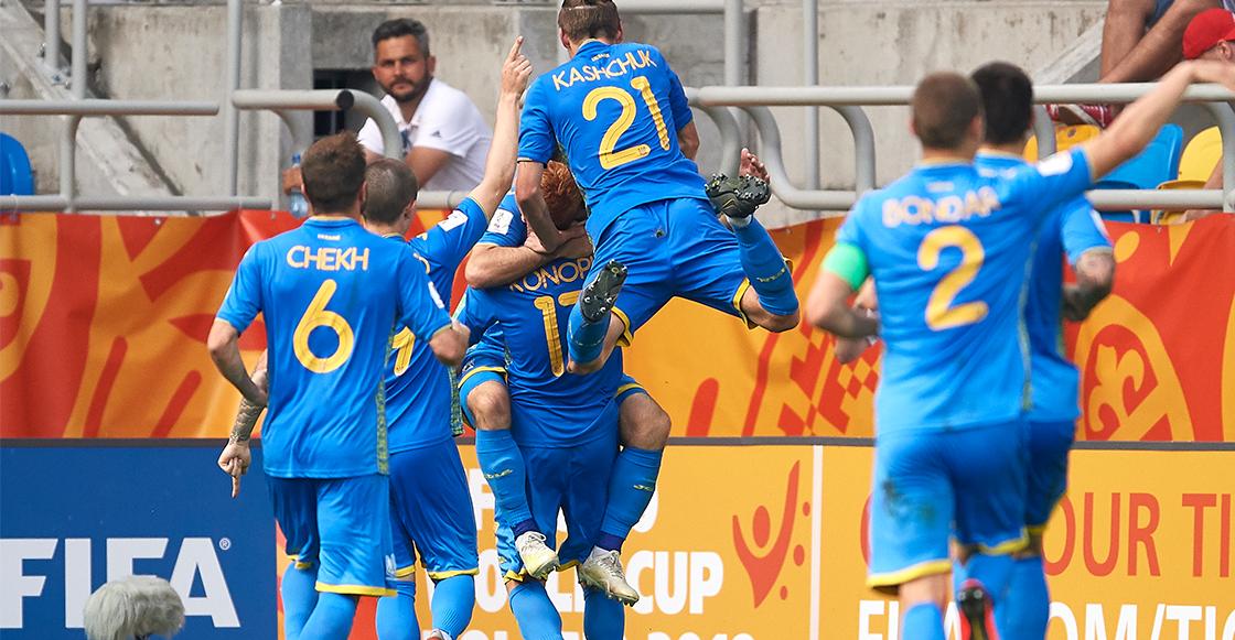 ¡Histórico! El gol que metió a Ucrania a su primera final de un Mundial Sub-20