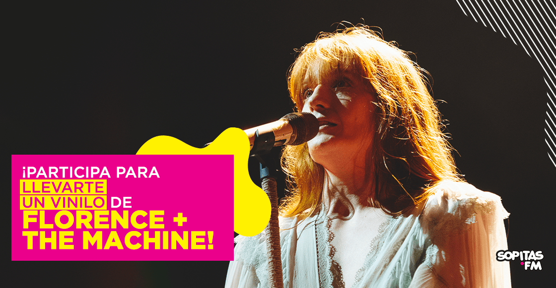 ¡Gánate un vinilo de Florence + The Machine autografiado!