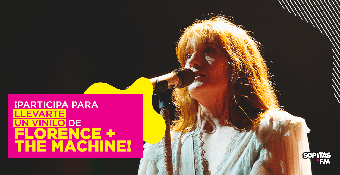 ¡Gánate un vinilo de Florence + The Machine autografiado!
