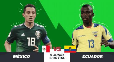 ¿Cuándo, cómo y dónde ver en vivo el México vs Ecuador?