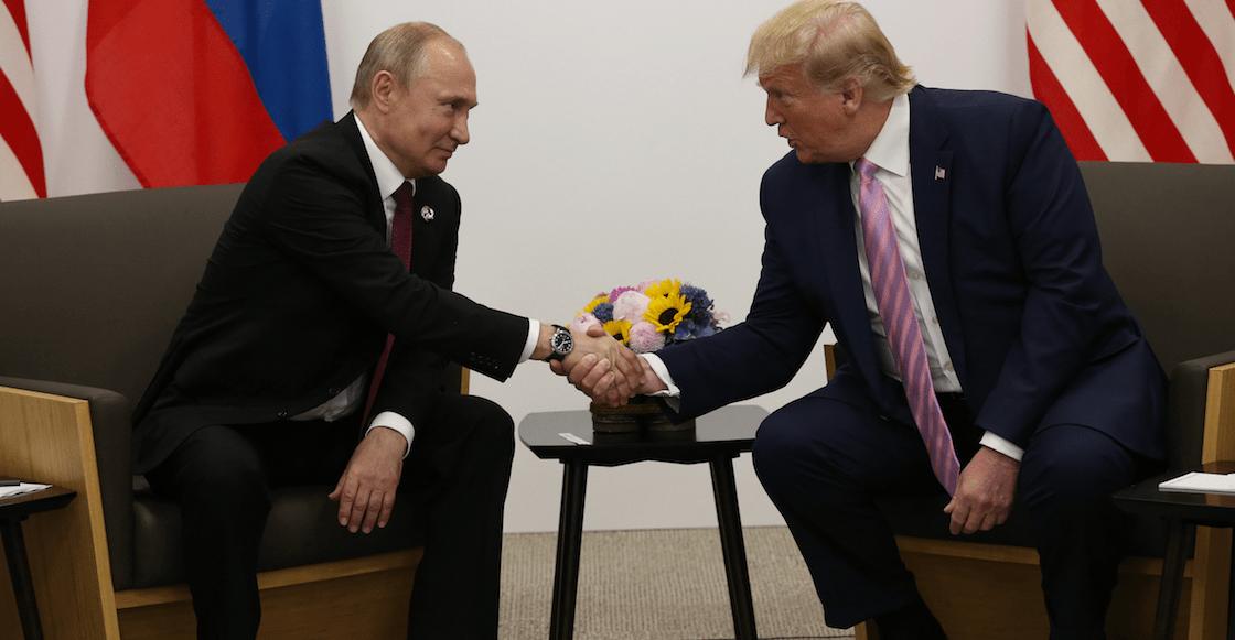 ¿Quién dijo injerencia? Trump le pide a Putin que no interfiera en las elecciones 2020 de EUA