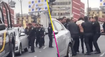 Policías que agredieron a una mujer en CDMX son investigados por abuso sexual