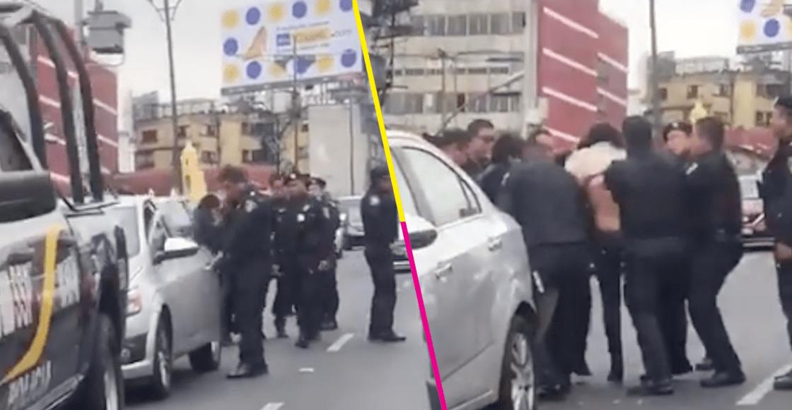 Policías que agredieron a una mujer son investigados por abuso sexual