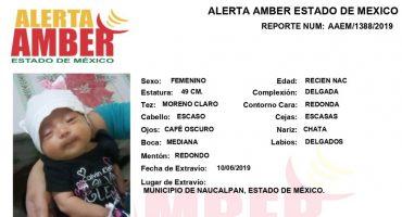 Una bebé recién nacida fue robada en el municipio de Naucalpan, Edomex