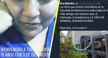 Alumna de Medicina de la UNAM será investigada por burlarse de una joven en labor de parto