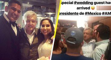 Casual: Como cuando el presidente de México llega a 'crashear' tu boda