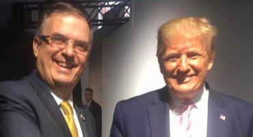 Y en la imagen del día: Ebrard y Trump se encuentran en Cumbre G20