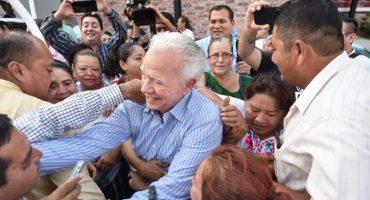Andrés Granier regresa a Tabasco después de ser absuelto y así lo reciben