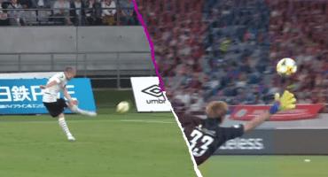 ¡Como los vinos! El golazo de Andrés Iniesta con el Vissel Kobe