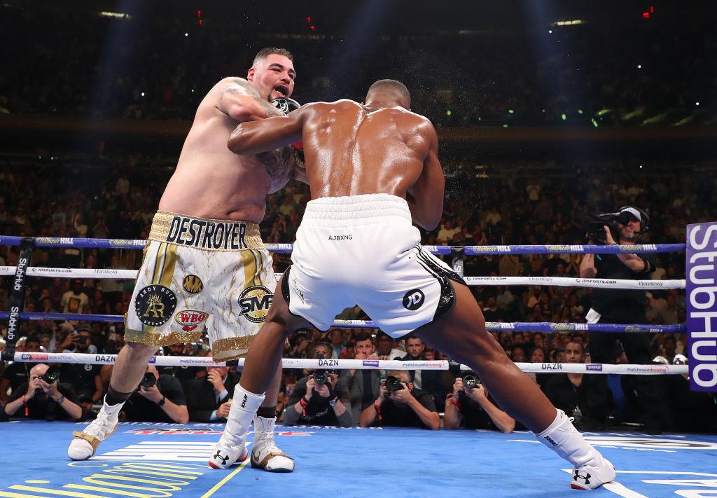 Andy Ruiz iría por su cuarto cinturón previo a su revancha contra Anthony Joshua
