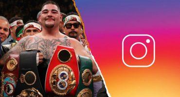 Andy Ruiz habría conseguido su pelea de campeonato por un mensaje en Instagram