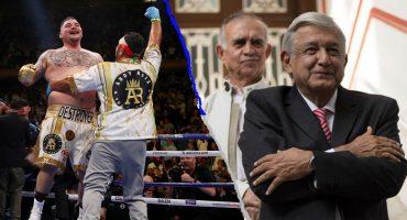 ¡En tu cara! Andy Ruiz preferiría visitar a AMLO que a Trump en la Casa Blanca