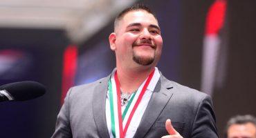 ¡Como jefe! Andy Ruiz tendrá un desfile en su honor en Estados Unidos