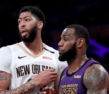 ¡Lakers galácticos! Anthony Davis se une a LeBron James en Los Ángeles