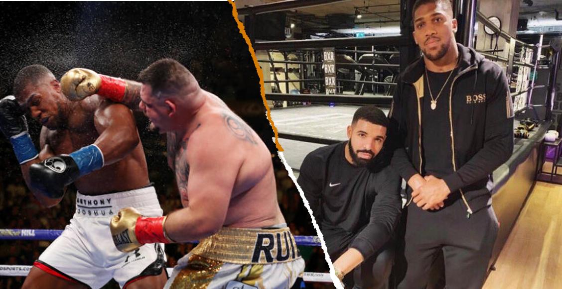 Andy Ruiz 'recibió ayuda' de la maldición de Drake para ser campeón de peso pesado