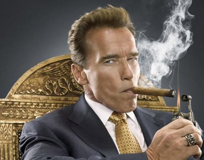 Arnold Schwarzenegger en Beverly Hills