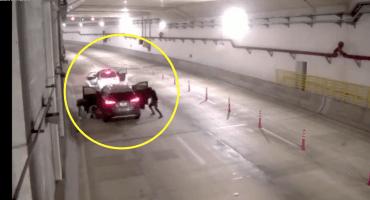 ¡Mucho ojo! El video del asalto en el túnel es fake news, no pasó en México