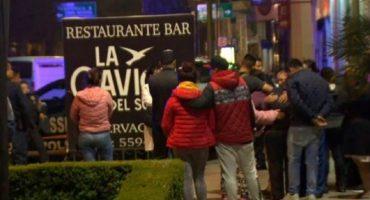 Mueren dos personas durante una balacera en bar de Coyoacán