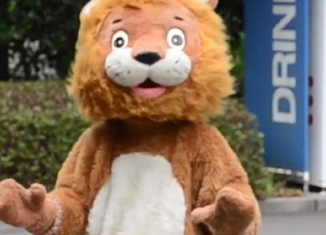 Botarga de León en Japón - Simulacro