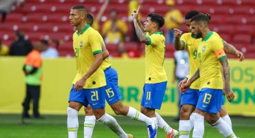Los siete goles que le clavó Brasil a Honduras ¡Hasta Coutinho marcó!