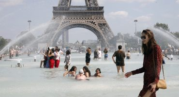 Intensa ola de calor mantiene a Europa por arriba de los 30°C