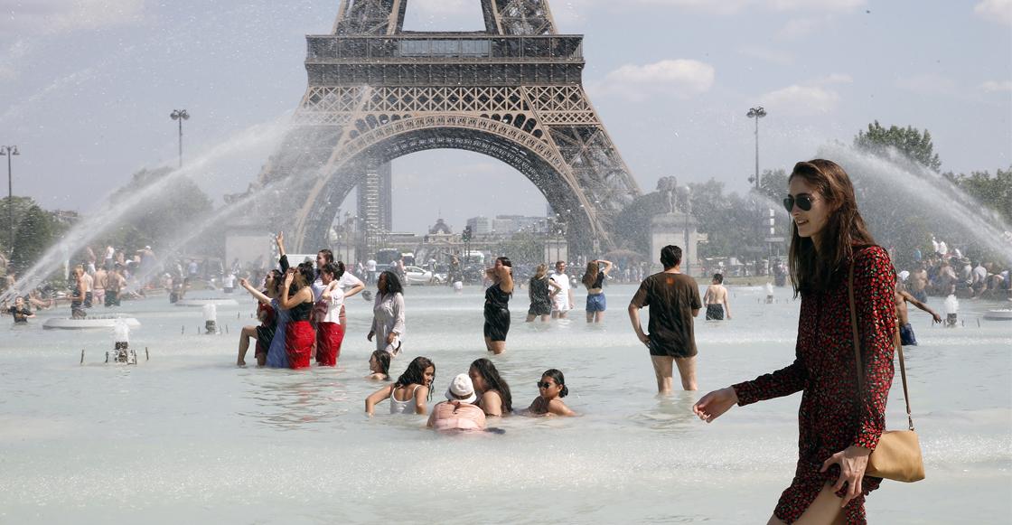 Europa vive su día más caluroso desde que se tienen registros
