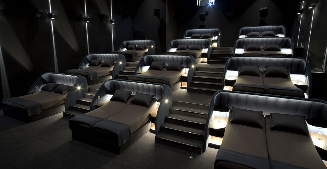 Camas en salas de cine - Suiza