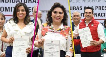 ¡Ya estuvo! Oficialmente son tres los candidatos a la dirigencia del PRI