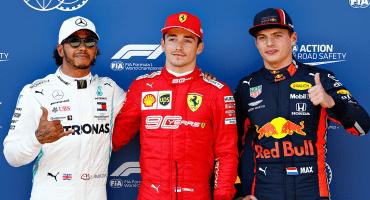 Leclerc le pone el freno al sancionado Lewis Hamilton en la calificación del Gran Premio de Austria