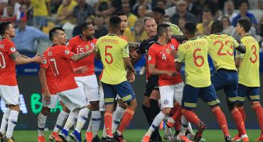Chile manda de regreso a Colombia en la Copa América en los penales