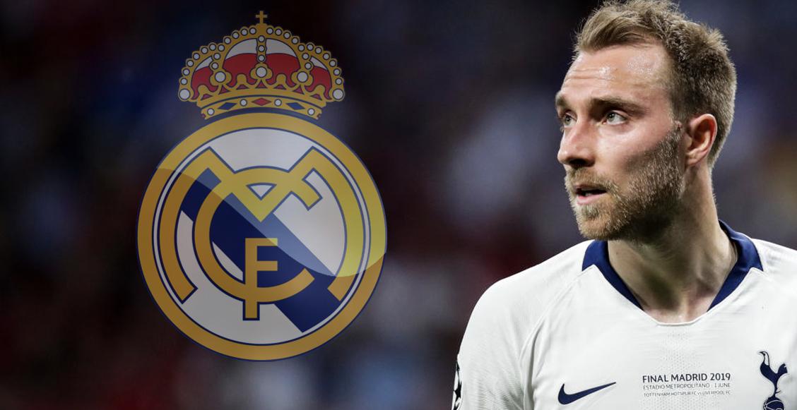 Christian Eriksen se apunta al Real Madrid: