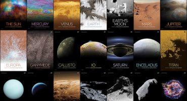 Ya puedes imprimir los mejores pósters del espacio capturados por la NASA 
