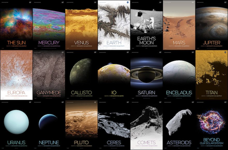 Ya puedes imprimir los mejores pósteres del espacio capturados por la NASA totalmente gratis