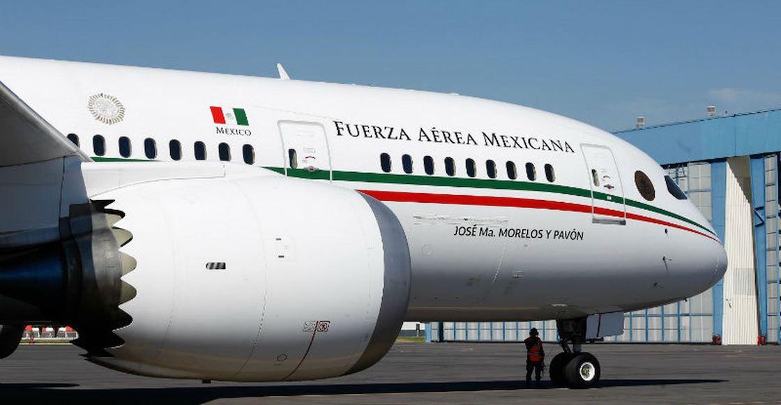 ¡Llévelo... por favor! Ha costado 242 millones tener el avión presidencial guardado