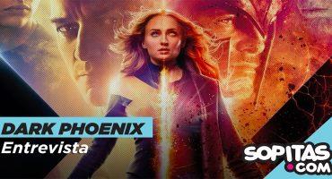 Sophie Turner nos reveló un spoiler en nuestra entrevista para 'Dark Phoenix'