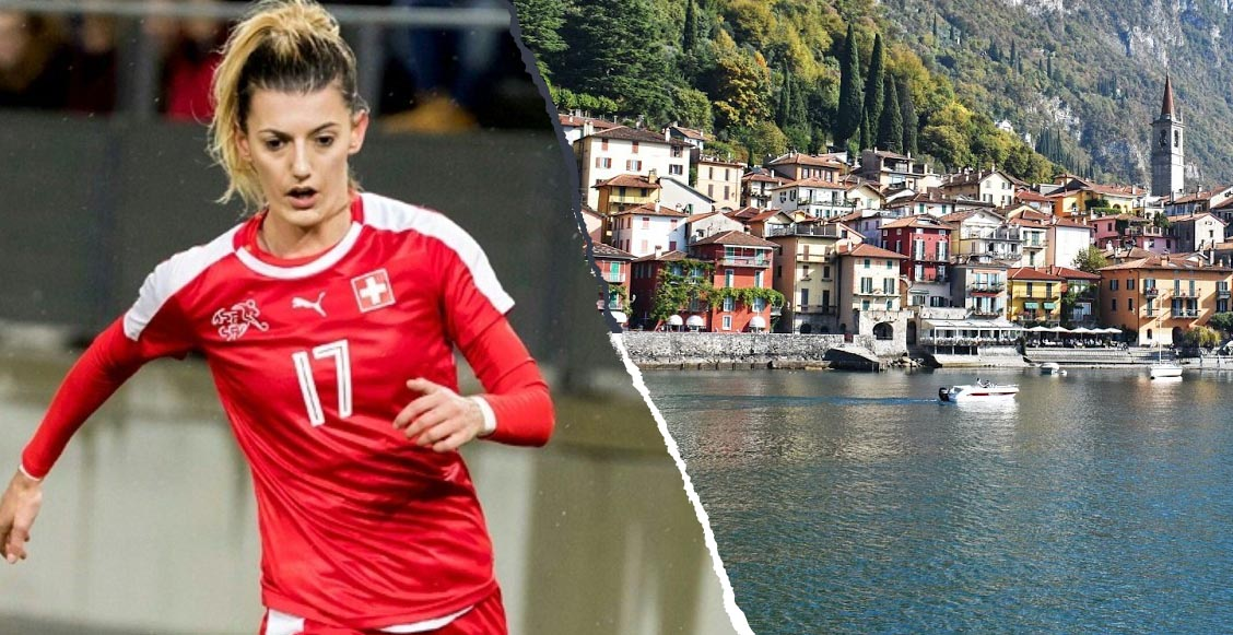 Reportan desaparición de una futbolista suiza mientras nadaba en un lago de Italia