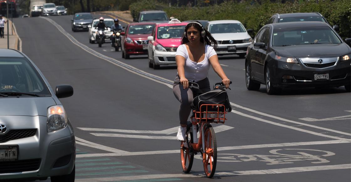A propósito del Día de la Bicicleta ¿qué tan peligroso es usarla en CDMX?