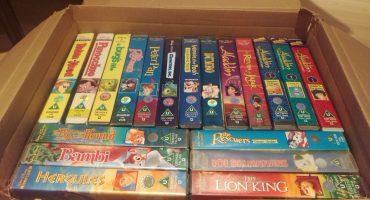 ¡Una minita de oro! VHS de Disney se venden por más de 300 mil pesos en internet