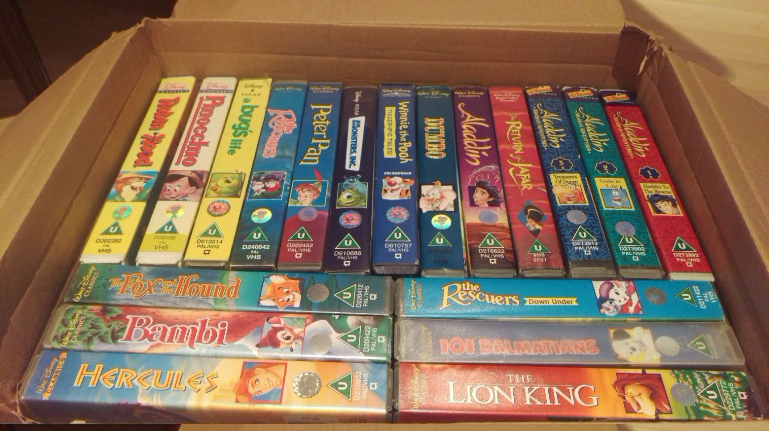 VHS de Disney se venden por más de 300 mil pesos en internet