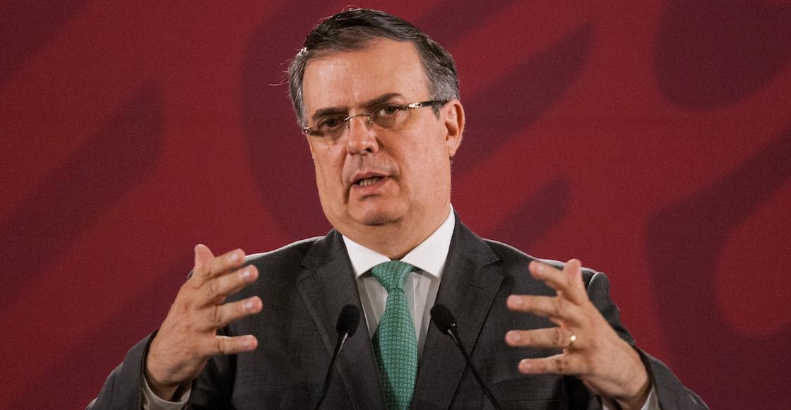No hubo acuerdo: Ebrard anuncia que seguirán mañana las negociaciones con EUA