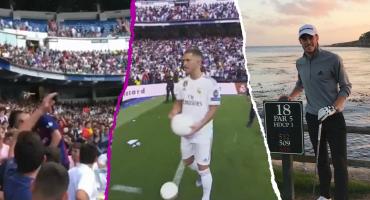 Infiltrados del Barça, la indiferencia de Bale... Lo que no se vio en la presentación de Hazard